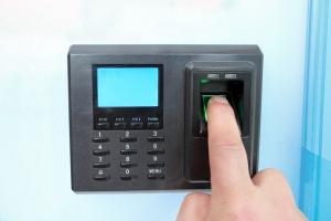 Teil des IoT: Biometrischer Scanner